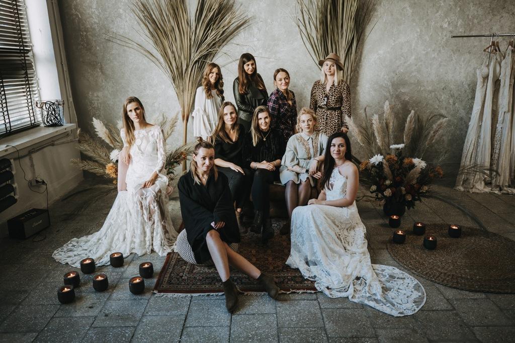 20 Suknie ślubne Atelier Lawenda Rue De Seine Suknie Boho Suknie